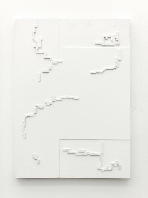 , 'White Cut Out,' 2016, Galleri Jacob Bjørn