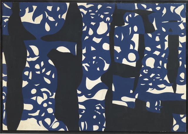 , 'Alberi Blunero,' 1959-1960, Partners & Mucciaccia
