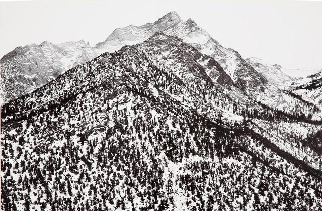 Ansel Adams, 'Lone Pine Peak, Sierra Nevada, California', 1960, Atlas Gallery