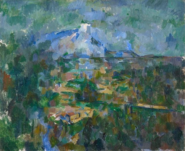 , 'Le Mont Sainte-Victoire vu des Lauves,' 1904-1906, Kunstmuseum Basel