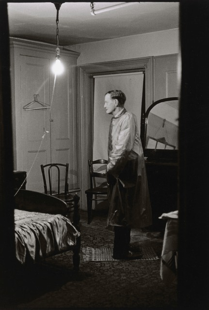 , 'The Backwards Man in his hotel room, N.Y.C.,' 1961, San Francisco Museum of Modern Art (SFMOMA)