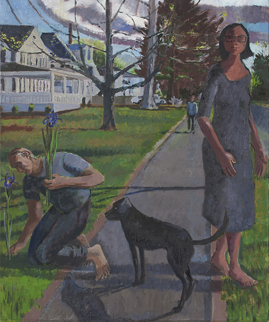 , 'Shouldering,' 2015, Bowery Gallery
