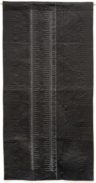 , 'Generative Textile Drawing (lb1),' 2018, Joseph Nease Gallery