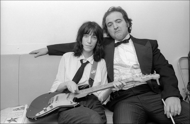 , 'Patti Smith and John Belushi backstage at Saturday Night Live,' 1976, Madelyn Jordon Fine Art