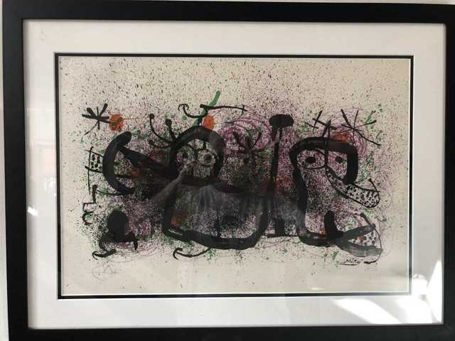Joan Miró, 'Ma de Proverbis', 1970, Leviton Fine Art