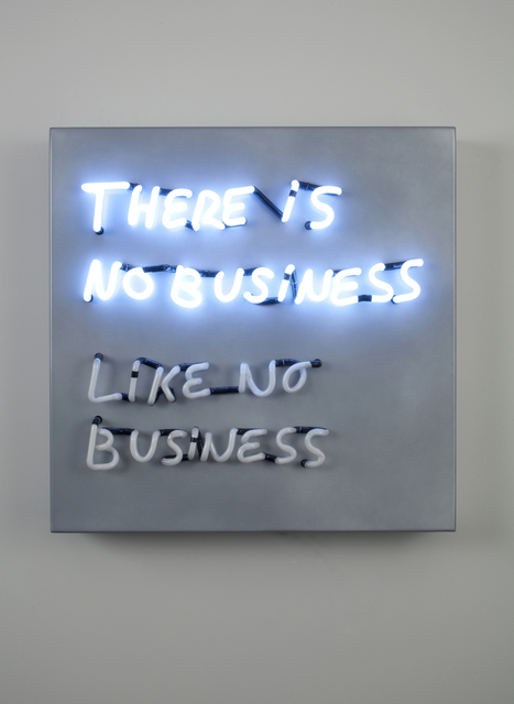 , 'There Is No Business Like No Business,' 2009, bitforms gallery