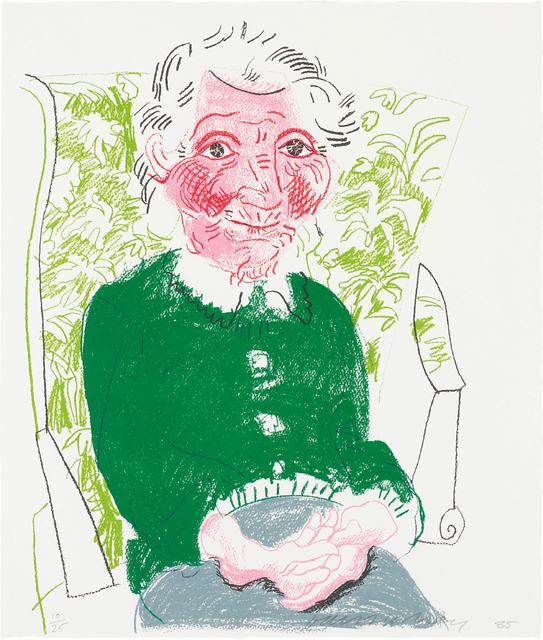David Hockney, 'Portrait of Mother I, from The Moving Focus Series', 1985, Phillips