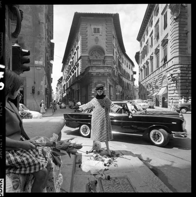 , 'Girl with Mercedes, Florence,' 1961, Holden Luntz Gallery