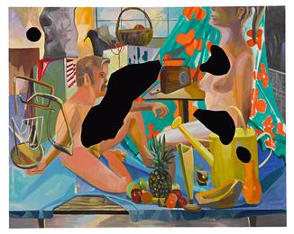 Dana Schutz, 'Set Up,' 2007, Sotheby's: Contemporary Art Day Auction