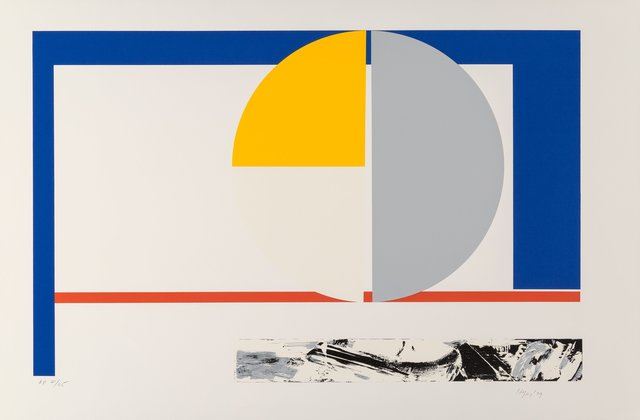 Budd Hopkins, 'Jutland III', 1979, Print, Serigraph in colors on wove paper, Heritage Auctions