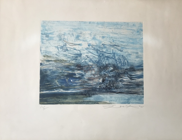 Zao Wou-Ki 趙無極, 'Untitled (Agerup 163)', 1965, Digard Auction