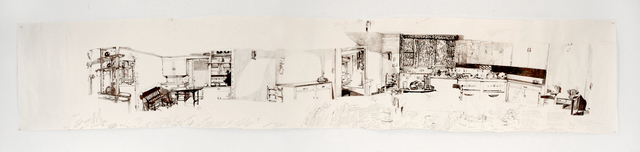 , 'Jessica Drummond's Kitchen (My Reputation, 1945),' 2011, Pierogi