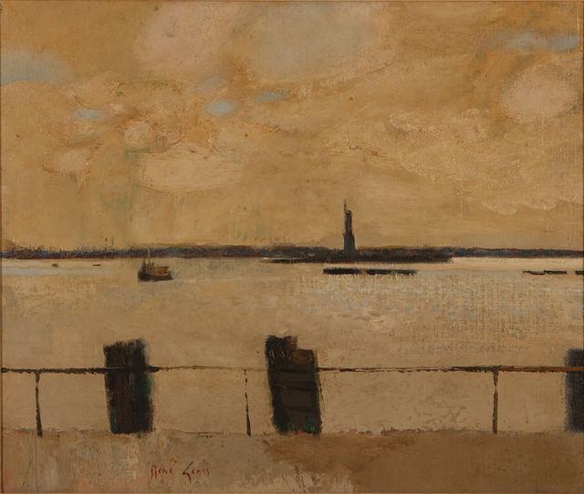 Rene Genis, 'La Statue de la Liberté', Painting, Oil on canvas, Capsule Gallery Auction