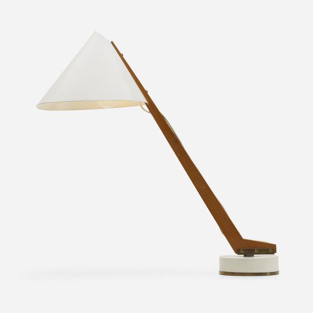 Hans-Agne Jakobsson, 'Table lamp, model B54', c. 1955, Wright
