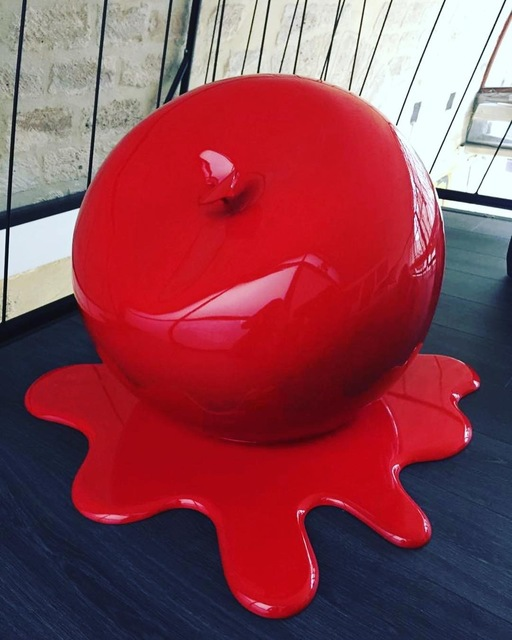 Eric Pottier, 'XL Red Apple', 2018, Design by Jaler