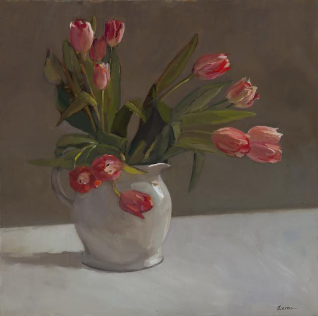 , 'Pink Swirl,' 2017, Grenning Gallery