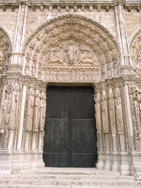 'Chartres Cathedral (the Cathedral of Notre-Dame)', ca. 1134, Architecture, Art History 101