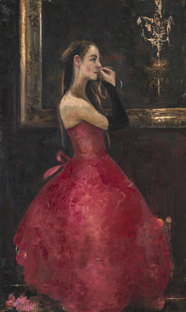 Ġoxwa, 'Before the Opera', 2020, Painting, Oil on canvas, Hugo Galerie