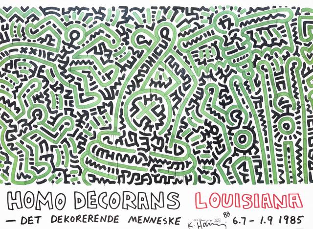 Keith Haring, 'Homo Decorans', 1985, Tate Ward Auctions