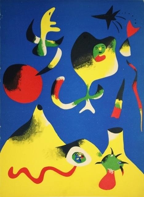 Joan Miró, 'Air', 1956, Heather James Fine Art Gallery Auction