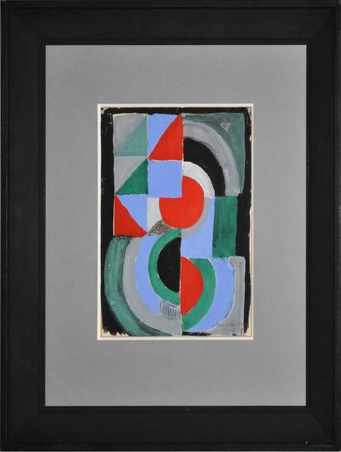 , 'Composition en vert rougue et bleu,' 1959, Maddox Arts