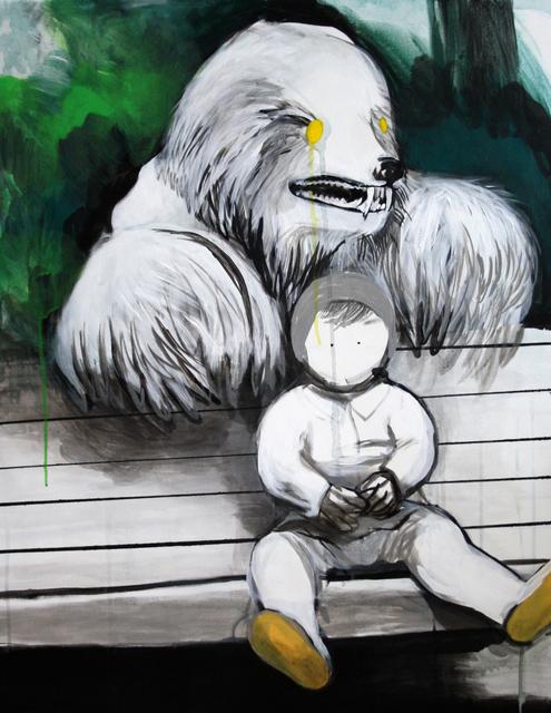 , 'Teddy,' 2014, Galerie Sandhofer