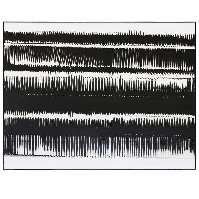 , 'Dynamische Strukturen in Schwarz,' 1962, Cortesi Gallery