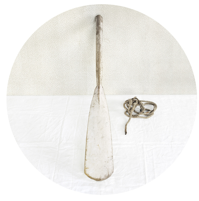 , 'White Oar,' 2010, Carrie Haddad Gallery