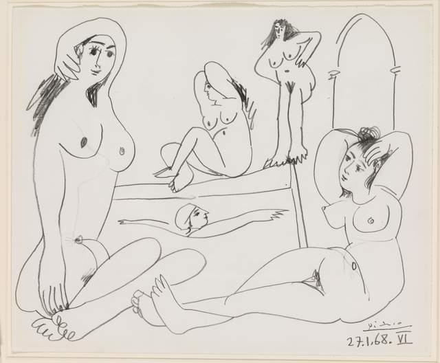 , 'Le Bain, 27 January 1968,' 1968, Opera Gallery