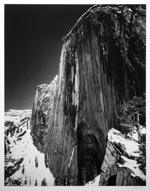 , 'Monolith, The Face of Half Dome, Yosemite National Park,' ca. 1927, Photography West Gallery