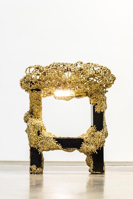 , 'Bronzed Stone Table Light,' 2017, Wasserman Projects
