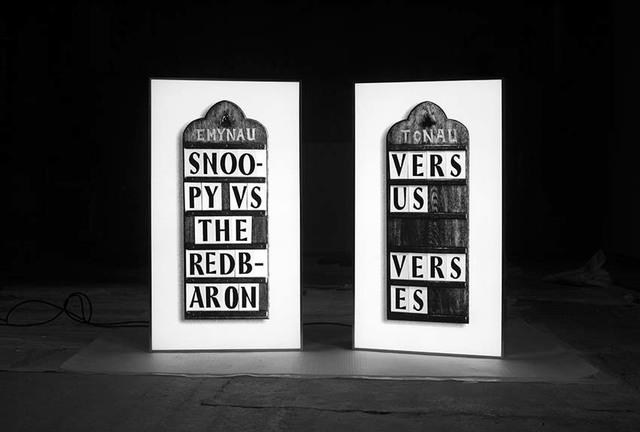 , 'Verses Versus ,' 2015, Frith Street Gallery