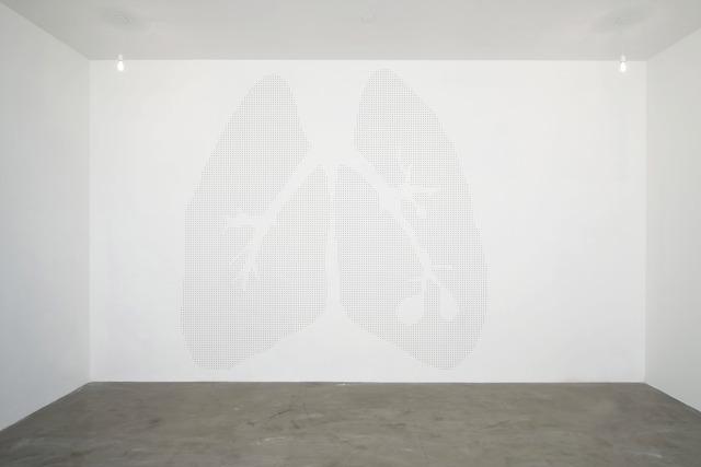 , 'Apparato Respiratorio,' 1992, Magazzino