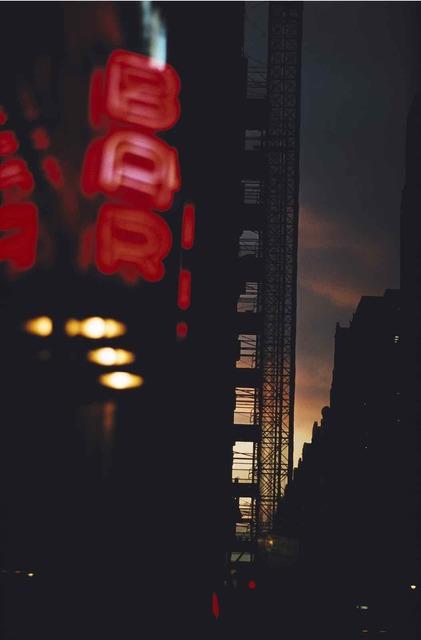 , 'New York,' 1952, Les Douches La Galerie