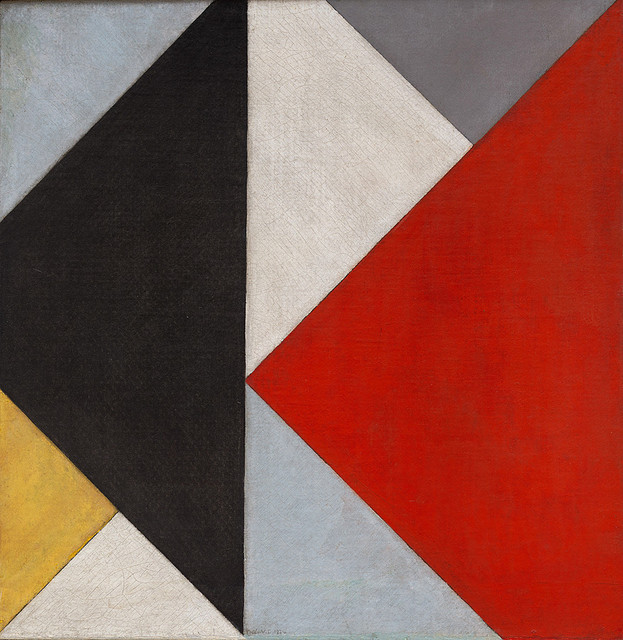 , 'Counter-Composition XIII (Contra-Compositie XIII),' 1925-1926, Centre for Fine Arts (BOZAR)