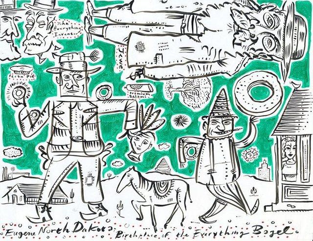 Ephraim Wuensch, 'Everything Bagel', 2013, Lions Gallery