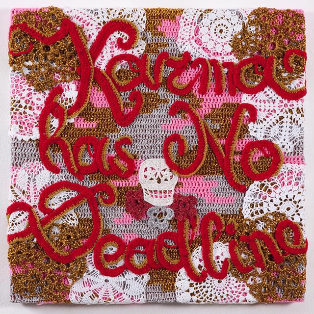 , 'Karma Has No Deadline,' 2013, Jonathan LeVine Projects