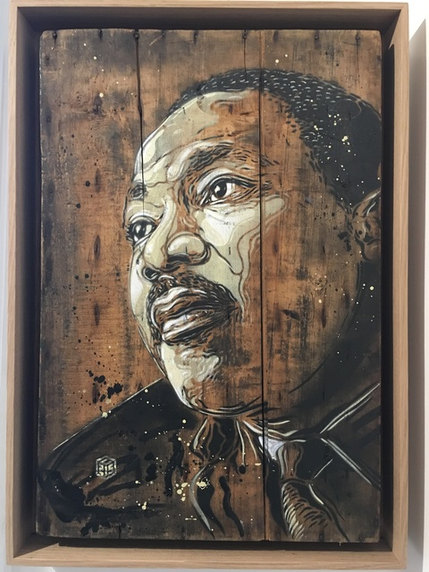 C215, 'M. Luther King', 2015, We Art Partners