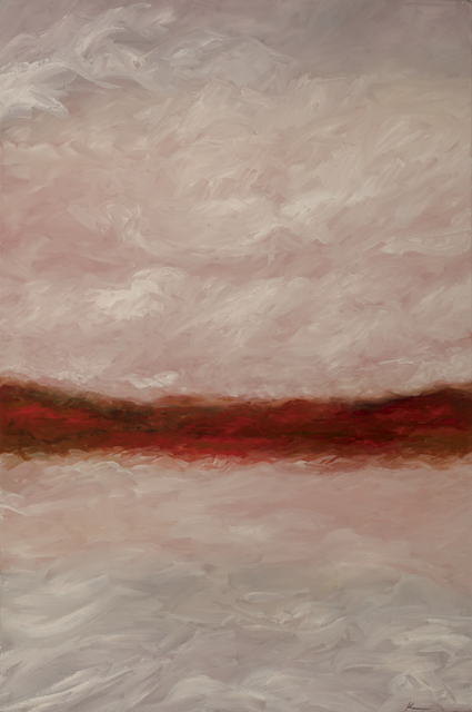 , 'Crimson Sunset ,' 2016, InLiquid