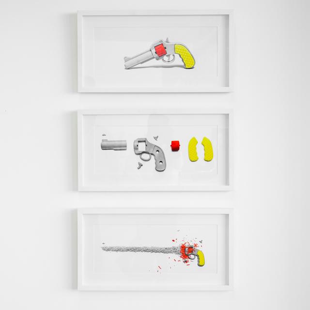 , 'S/T De la Serie Eraser Home Set,' 2012, Marion Gallery