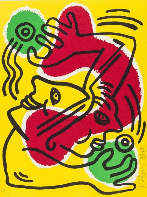 Keith Haring, 'International Volunteer Day (Littmann p.93)', 1988, Forum Auctions