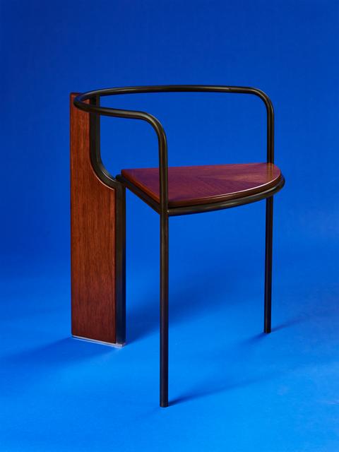 , 'Fin Chair,' 2017, PELLE