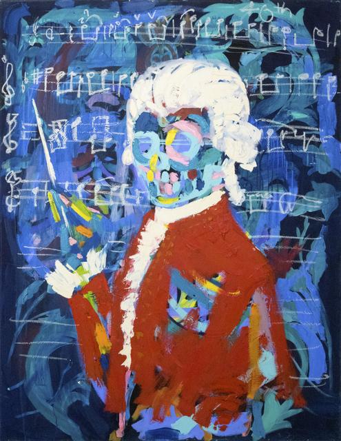 Bradley Theodore, 'Young Mozart ', 2018, Maddox Gallery