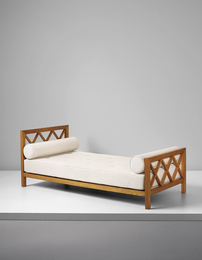 "Jean Royère, '""Croisillon"" bed,' ca. 1955, Phillips: Design"