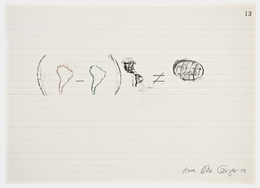 Anna Bella Geiger, 'Equations No 13', 1978, Henrique Faria Fine Art