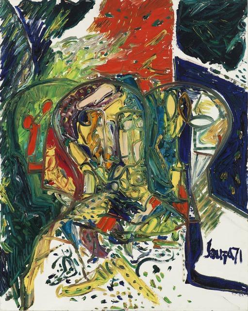 , 'Trimurti,' 1971, Grey Art Gallery