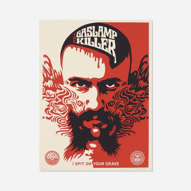 Shepard Fairey (OBEY), 'Gaslamp Killer', 2008, Rago/Wright