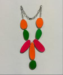 , 'Green, Pink & Orange Neon,' 2015, Pan American Art Projects