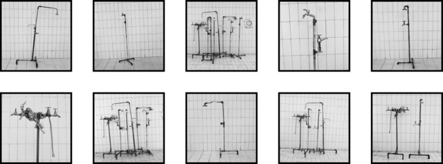 , 'Plumber Assemblage, Fig. 1 - 10, Tangier,' 2014, Pace/MacGill Gallery