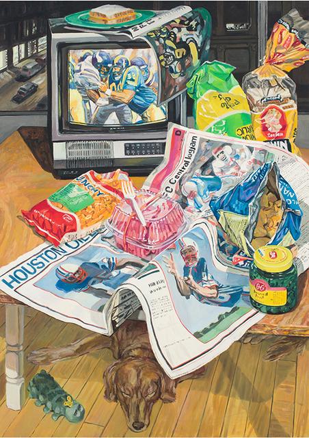 , 'Football,' 1986, DC Moore Gallery